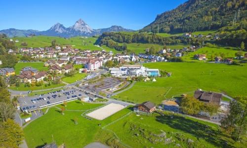 TWO PEAKS OF SWITZERLAND