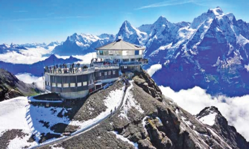 LAKES & ALPHS IN SWITZERLAND
